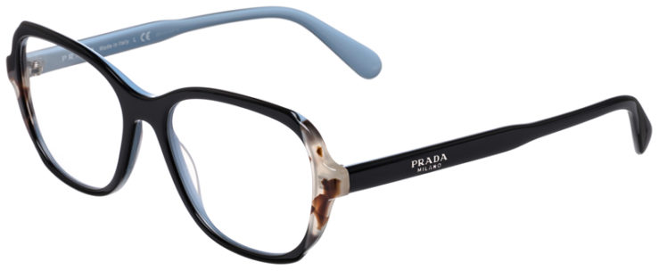 PRESCRIPOTION-GLASSES-MODEL-PRADA-VPR-03V-BLUE-LIGHT-BLUE-45