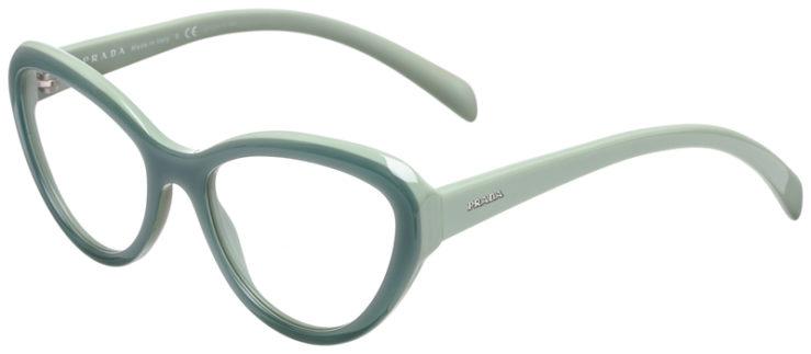 PRESCRIPOTION-GLASSES-MODEL-PRADA-VPR-25R-OPAL-GREEN-45