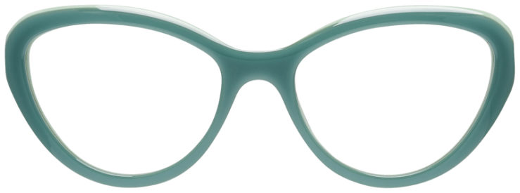 PRESCRIPOTION-GLASSES-MODEL-PRADA-VPR-25R-OPAL-GREEN-FRONT
