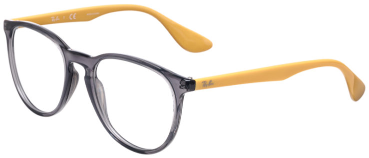 PRESCRIPOTION-GLASSES-MODEL-RAY-BAN-ERIKA-RB7046-GREY-YELLOW-45