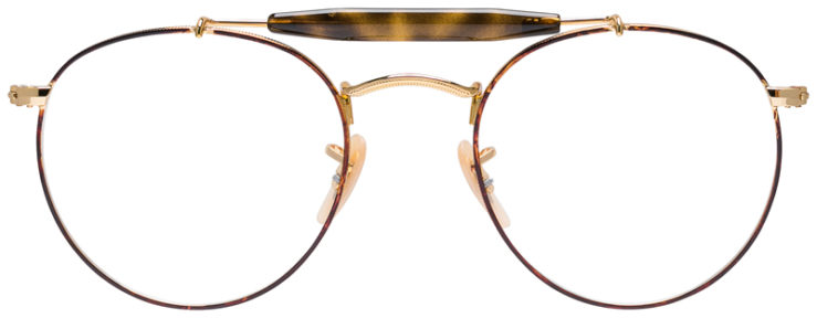 PRESCRIPOTION-GLASSES-MODEL-RAY-BAN-RB3747V-GOLD-TORTOISE-FRONT
