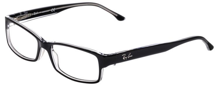 PRESCRIPOTION-GLASSES-MODEL-RAY-BAN-RB5114-BLACK-CRYSTAL-45