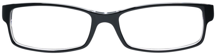 PRESCRIPOTION-GLASSES-MODEL-RAY-BAN-RB5114-BLACK-CRYSTAL-FRONT