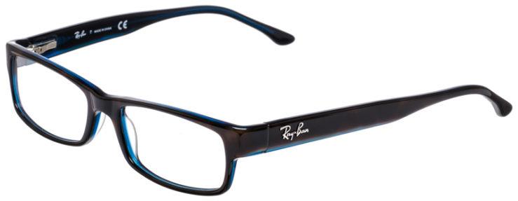 PRESCRIPOTION-GLASSES-MODEL-RAY-BAN-RB5114-TORTOISE-BLUE-45
