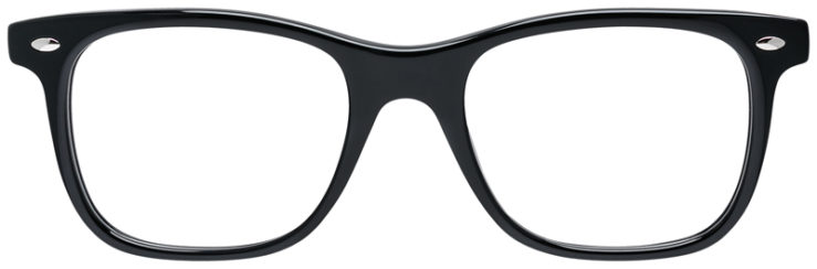 PRESCRIPOTION-GLASSES-MODEL-RAY-BAN-RB5248-BLACK-FRONT