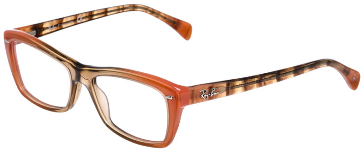 PRESCRIPOTION-GLASSES-MODEL-RAY-BAN-RB5255-BEIGE-ORANGE-45