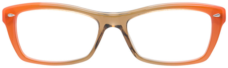 PRESCRIPOTION-GLASSES-MODEL-RAY-BAN-RB5255-BEIGE-ORANGE-FRONT