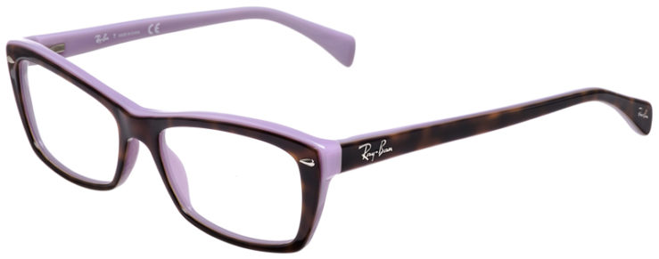 PRESCRIPOTION-GLASSES-MODEL-RAY-BAN-RB5255-TORTOISE-PURPLE-45