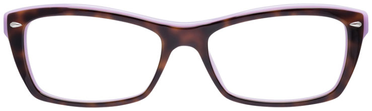 PRESCRIPOTION-GLASSES-MODEL-RAY-BAN-RB5255-TORTOISE-PURPLE-FRONT