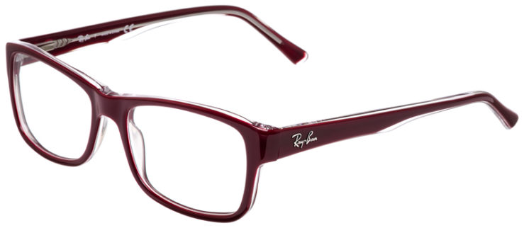 PRESCRIPOTION-GLASSES-MODEL-RAY-BAN-RB5268-BURGUNDY-45
