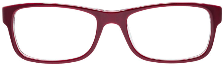 PRESCRIPOTION-GLASSES-MODEL-RAY-BAN-RB5268-BURGUNDY-FRONT