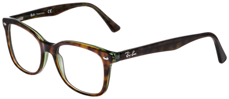 PRESCRIPOTION-GLASSES-MODEL-RAY-BAN-RB5285-TORTOISE-GREEN-45