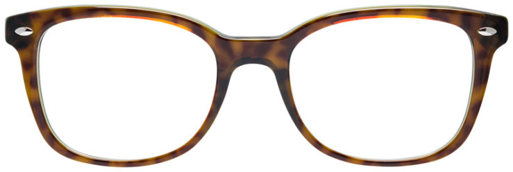 PRESCRIPOTION-GLASSES-MODEL-RAY-BAN-RB5285-TORTOISE-GREEN-FRONT