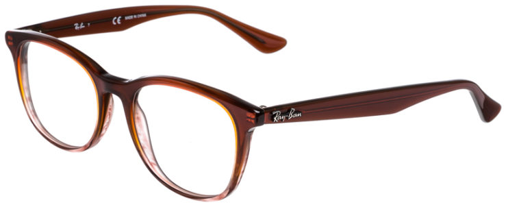 PRESCRIPOTION-GLASSES-MODEL-RAY-BAN-RB5356-BROWN-GRADIENT-45