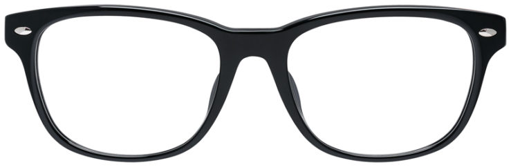 PRESCRIPOTION-GLASSES-MODEL-RAY-BAN-RB5359F-BLACK-FRONT