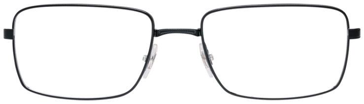 PRESCRIPOTION-GLASSES-MODEL-RAY-BAN-RB6329-BLACK-FRONT