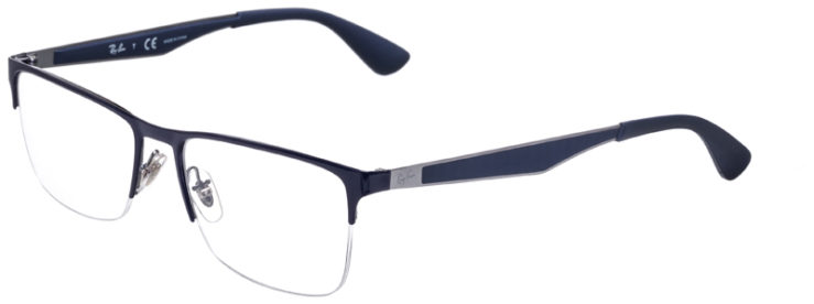 PRESCRIPOTION-GLASSES-MODEL-RAY-BAN-RB6335-NAVY-MATTE-BLUE-45