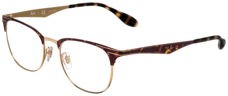 PRESCRIPOTION-GLASSES-MODEL-RAY-BAN-RB6346-TORTOISE-GOLD-45