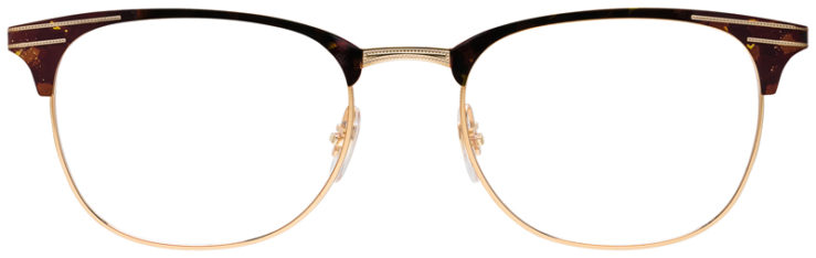 PRESCRIPOTION-GLASSES-MODEL-RAY-BAN-RB6346-TORTOISE-GOLD-FRONT