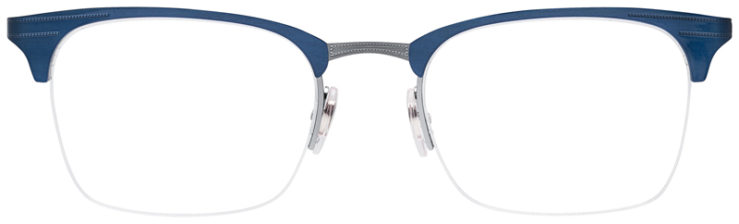 PRESCRIPOTION-GLASSES-MODEL-RAY-BAN-RB6360-BLUE-SILVER-FRONT