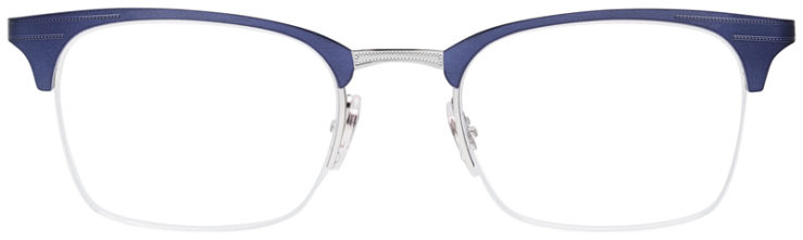 PRESCRIPOTION-GLASSES-MODEL-RAY-BAN-RB6360-NAVY-SILVER-FRONT