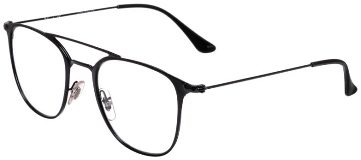 PRESCRIPOTION-GLASSES-MODEL-RAY-BAN-RB6377-MATTE-BLACK-45