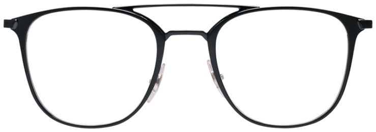 PRESCRIPOTION-GLASSES-MODEL-RAY-BAN-RB6377-MATTE-BLACK-FRONT