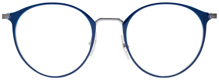 PRESCRIPOTION-GLASSES-MODEL-RAY-BAN-RB6378-NAVY–FRONT