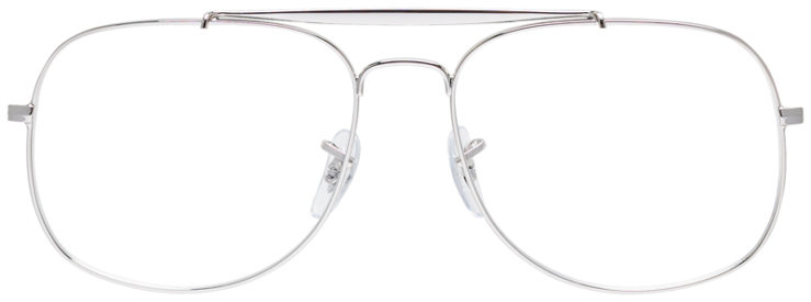 PRESCRIPOTION-GLASSES-MODEL-RAY-BAN-RB6389-SILVER-FRONT