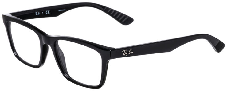 PRESCRIPOTION-GLASSES-MODEL-RAY-BAN-RB7025-BLACK-45