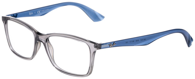 PRESCRIPOTION-GLASSES-MODEL-RAY-BAN-RB7047-GREY-CRYSTAL-BLUE-45