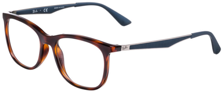 PRESCRIPOTION-GLASSES-MODEL-RAY-BAN-RB7078-TORTOISE-MATTE-BLUE-45