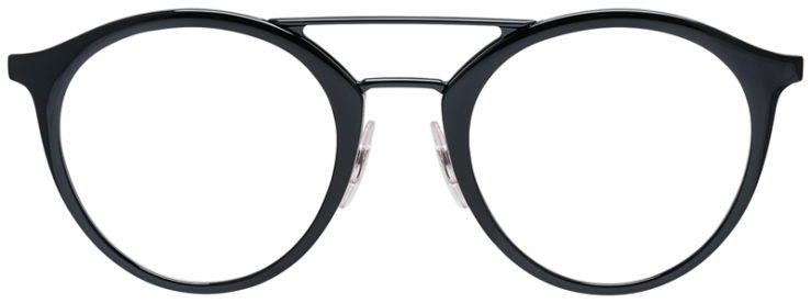 PRESCRIPOTION-GLASSES-MODEL-RAY-BAN-RB7097-BLACK-FRONT