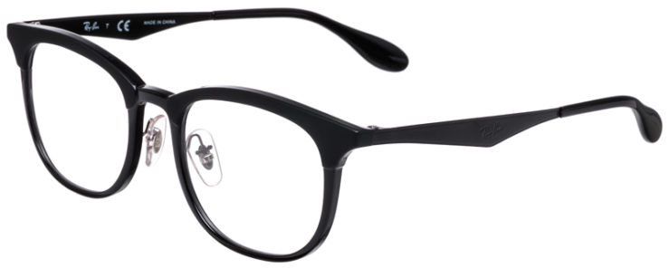 PRESCRIPOTION-GLASSES-MODEL-RAY-BAN-RB7112-BLACK-MATTE-BLACK-45