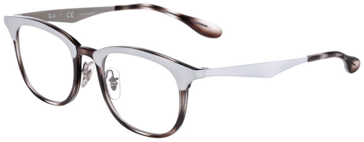 PRESCRIPOTION-GLASSES-MODEL-RAY-BAN-RB7112-GREY-TORTOISE-WHITE-45