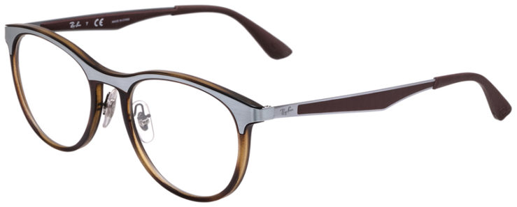 PRESCRIPOTION-GLASSES-MODEL-RAY-BAN-RB7116-MATTE-TORTOISE-SILVER-45