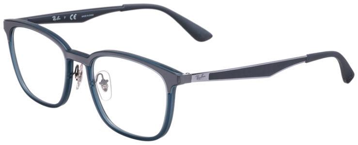 PRESCRIPOTION-GLASSES-MODEL-RAY-BAN-RB7117-MATTE-GREY-45