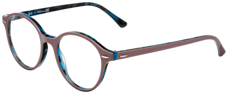 PRESCRIPOTION-GLASSES-MODEL-RAY-BAN-RB7118-ROSE-BLUE-TORTOISE-45