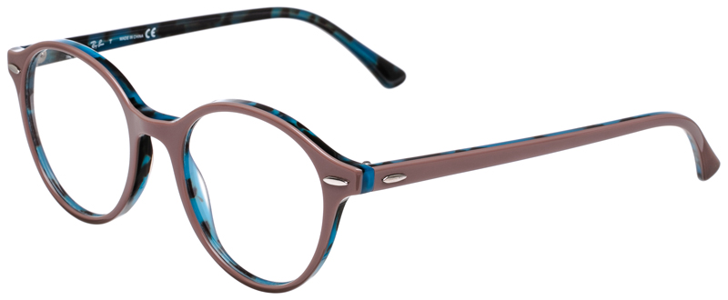 3165d0d3ef2 PRESCRIPOTION-GLASSES-MODEL-RAY-BAN-RB7118-ROSE-BLUE-