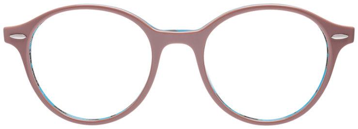 PRESCRIPOTION-GLASSES-MODEL-RAY-BAN-RB7118-ROSE-BLUE-TORTOISE-FRONT
