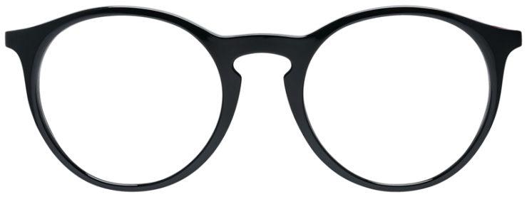 PRESCRIPOTION-GLASSES-MODEL-RAY-BAN-RB7132-BLACK-FRONT