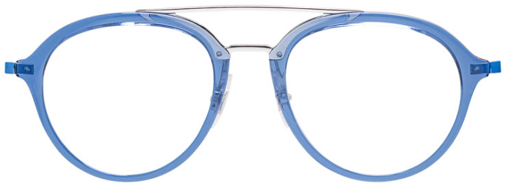 PRESCRIPOTION-GLASSES-MODEL-RAY-BAN-RB9065V-LIGHT-BLUE-FRONT