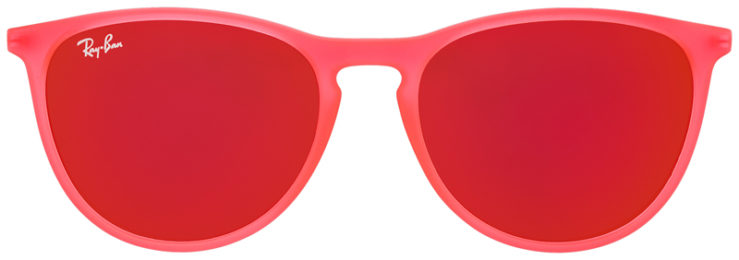 PRESCRIPOTION-GLASSES-MODEL-RAY-BAN-RJ9060S-MATTE-BRIGHT-PINK-FRONT