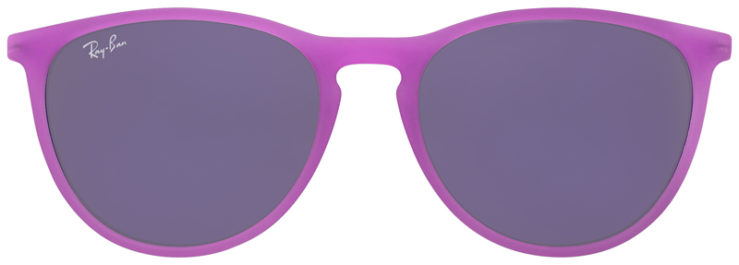PRESCRIPOTION-GLASSES-MODEL-RAY-BAN-RJ9060S-MATTE-BRIGHT-PURPLE-FRONT