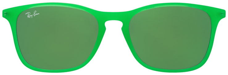 PRESCRIPOTION-GLASSES-MODEL-RAY-BAN-RJ9061S-BRIGHT-GREEN-FRONT