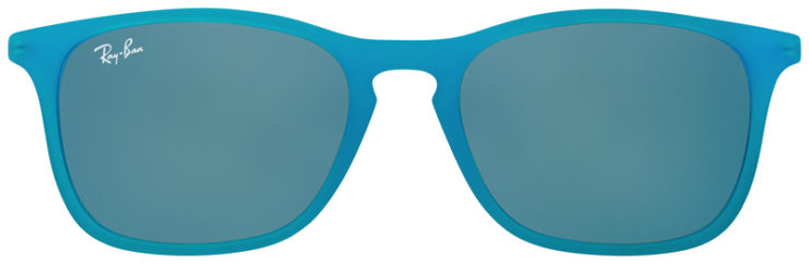 PRESCRIPOTION-GLASSES-MODEL-RAY-BAN-RJ9061S-TURQUOISE-FRONT