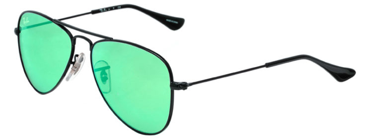 PRESCRIPOTION-GLASSES-MODEL-RAY-BAN-RJ9506S-BLACK-FLASH-GREEN-45