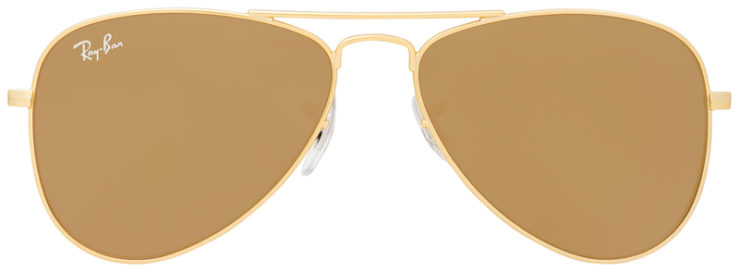 PRESCRIPOTION-GLASSES-MODEL-RAY-BAN-RJ9506S-GOLD-FLASH-GOLD-FRONT