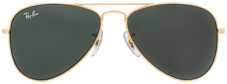 PRESCRIPOTION-GLASSES-MODEL-RAY-BAN-RJ9506S-GOLD-GREY-FRONT