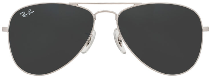 PRESCRIPOTION-GLASSES-MODEL-RAY-BAN-RJ9506S-GUNMETAL-FLASH-SILVER-FRONT
